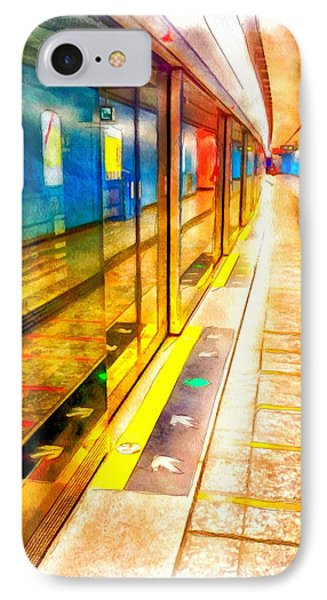 Mtr Admiralty Station In Hong Kong Phone Case by Yury Malkov