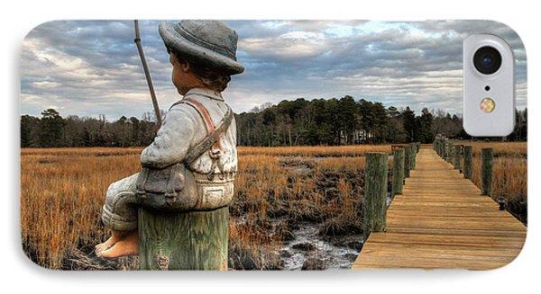 Mud Fishin' IPhone Case by John Loreaux