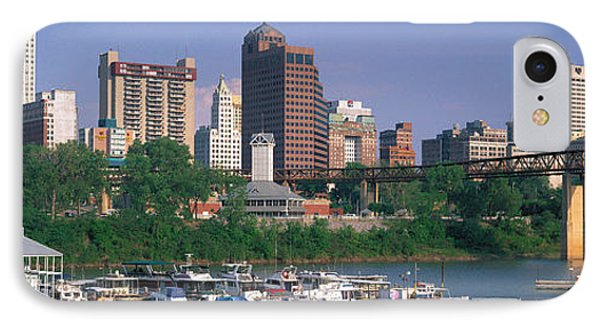 Mud Island Marina Skyline Memphis Tn IPhone Case by Panoramic Images
