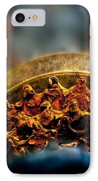 Muddy Rusty Sprockets Phone Case by Bob Orsillo