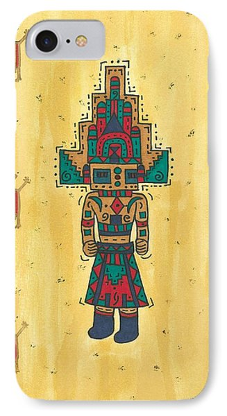 Mudhead Kachina Doll IPhone Case