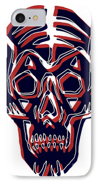Muerto Skull IPhone Case by Gregory Dyer