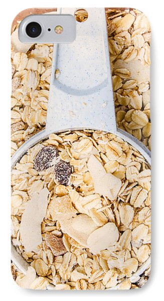 Muesli Scoop Serving Cup IPhone Case by Jorgo Photography - Wall Art Gallery