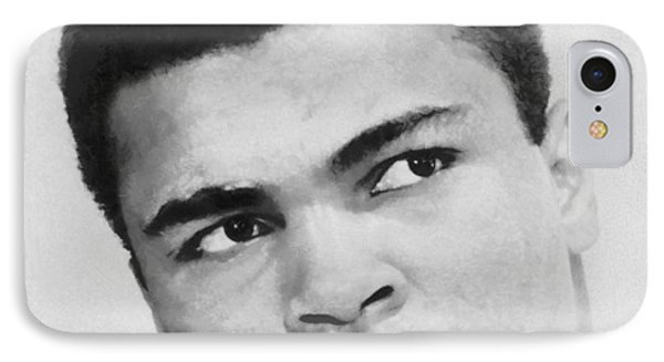Muhammad Ali IPhone Case by Dan Sproul