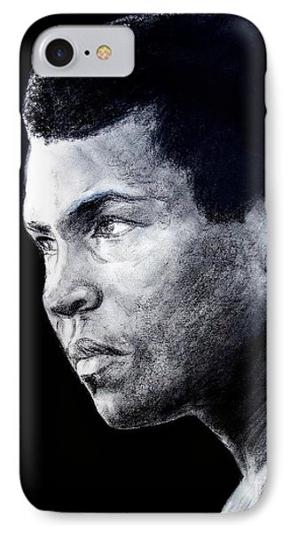 Muhammad Ali Formerly Known As Cassius Clay IIi Phone Case by Jim Fitzpatrick