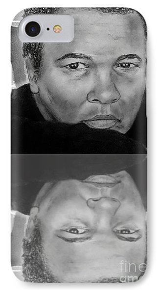 Muhammad Ali Formerly Known As Cassius Clay Version II With Reflection Phone Case by Jim Fitzpatrick