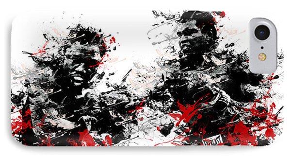 Muhammad Ali IPhone Case by Bekim Art