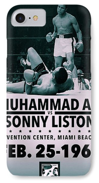 Muhammad Ali Poster Phone Case by Dan Sproul