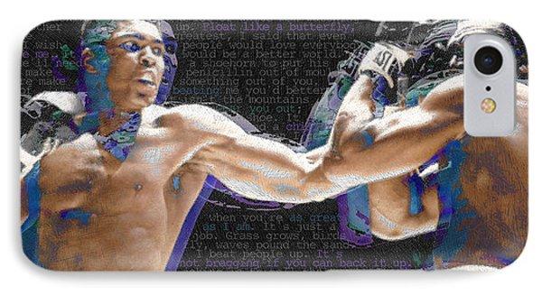 Muhammad Ali Phone Case by Tony Rubino