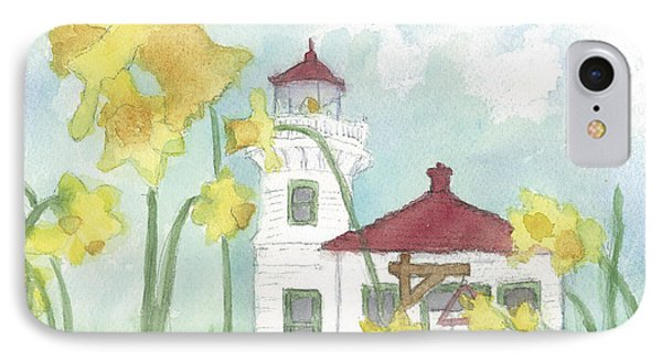 Mukilteo Lighthouse From A Different Perspective IPhone Case by Ann Michelle Swadener