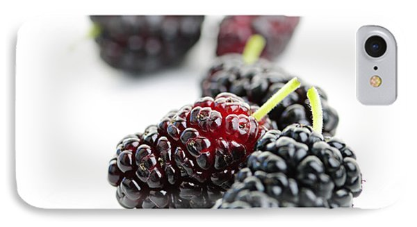 Mulberries  IPhone Case by Elena Elisseeva