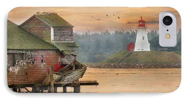 Mulholland Point Lighthouse IPhone Case by Lori Deiter