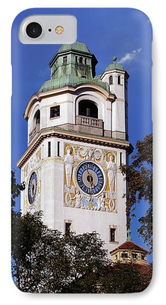 Mullersches Volksbad Munich Germany - A 19th Century Spa Phone Case by Christine Till