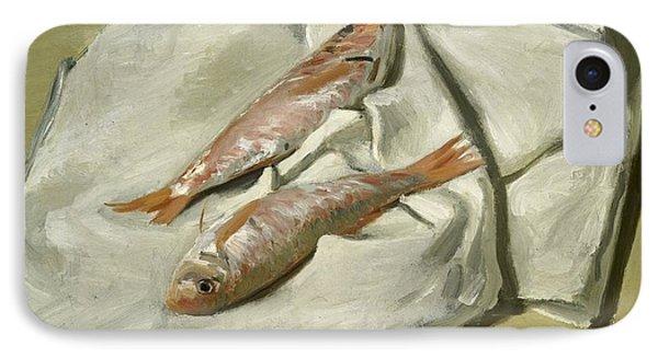Mullets Phone Case by Claude Monet