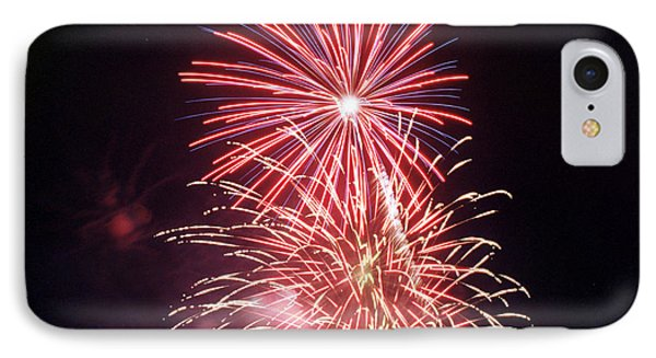 4th Of July Fireworks 1 Phone Case by Howard Tenke