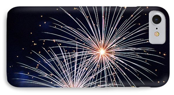 4th Of July Fireworks 3 Phone Case by Howard Tenke