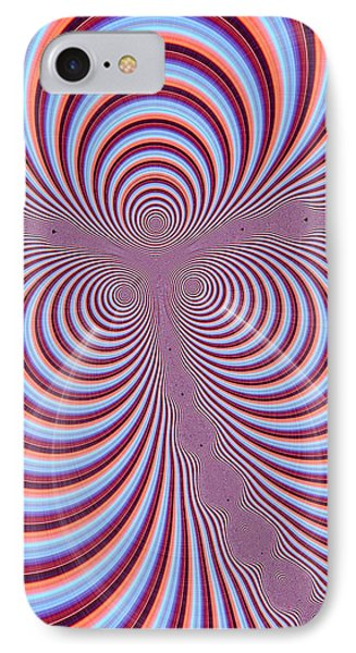 Multi-coloured Abstract Design Phone Case by Paul Sale Vern Hoffman