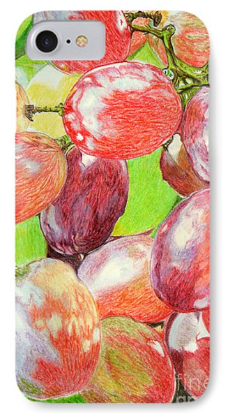 Multi Coloured Grapes Phone Case by Yvonne Johnstone