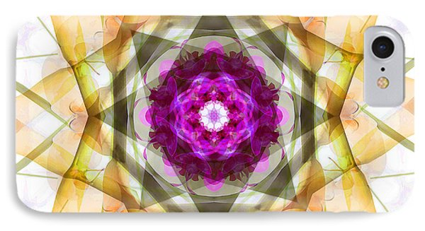 Multi Flower Abstract Phone Case by Mike McGlothlen