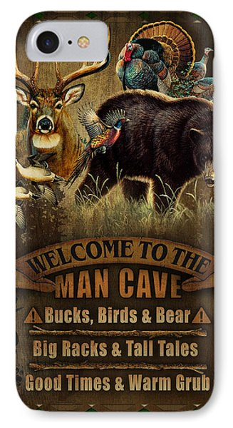 Multi Specie Man Cave Phone Case by JQ Licensing