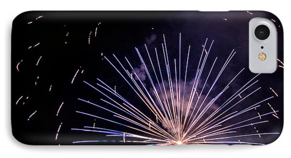 Multicolor Explosion IPhone Case by Suzanne Luft