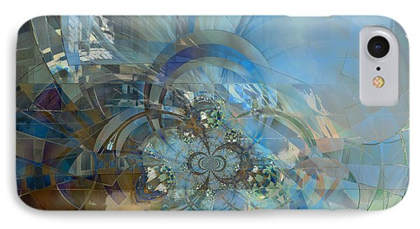 IPhone Case featuring the digital art Multiple Dimensions by Ursula Freer