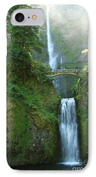 Multnomah Falls IPhone Case by Christiane Schulze Art And Photography
