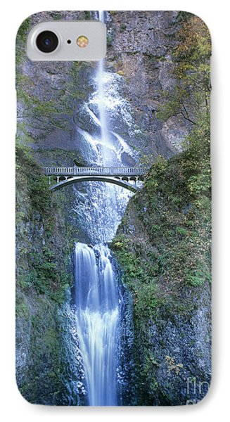 Multnomah Falls Columbia River Gorge IPhone Case
