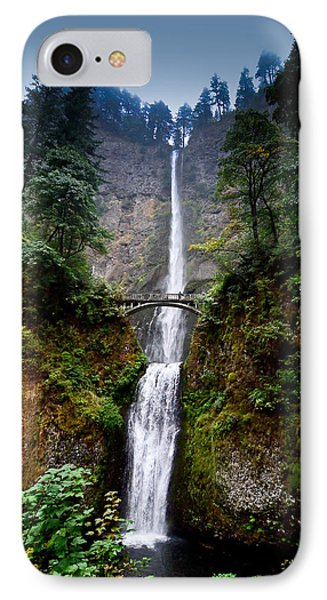 Multnomah Falls Oregon State Waterfall Phone Case by Puget  Exposure