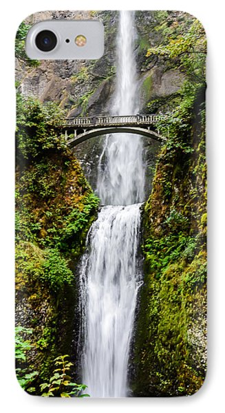 Multnomah Falls Oregon Waterfalls Phone Case by Puget  Exposure