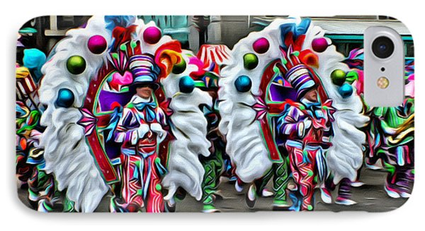 Mummer Color IPhone Case by Alice Gipson