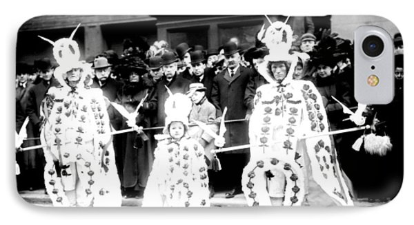Mummers Circa 1909 Phone Case by Bill Cannon