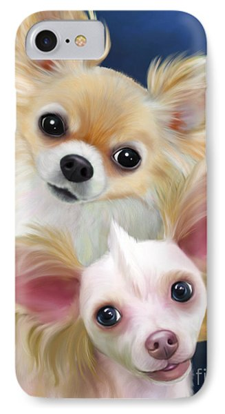 Munchie And Tuffy Phone Case by Catia Cho