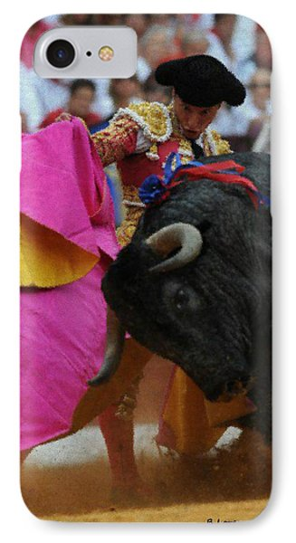 Mundo Torero IPhone Case by Bruce Nutting