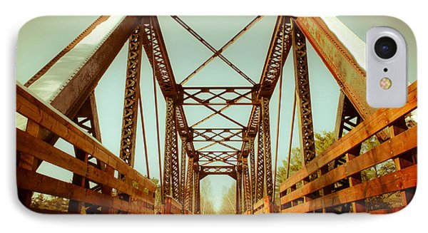 Munger Trail Crossing IPhone Case by Mark David Zahn