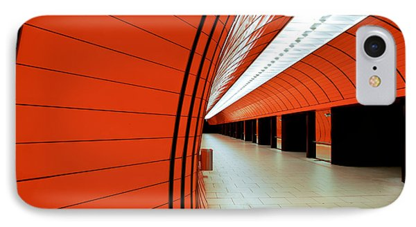 Munich Subway II IPhone Case by Hannes Cmarits