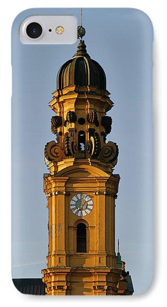 Munich Theatine Church Of St. Cajetan - Theatinerkirche St Kajetan Phone Case by Christine Till