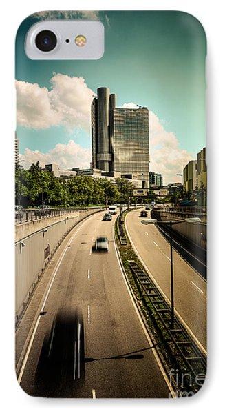 Munich Traffic Phone Case by Hannes Cmarits