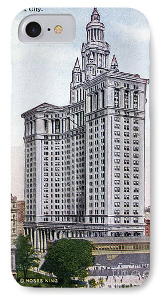 Municipal Building Phone Case by Granger