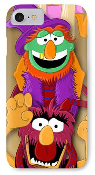 Muppet's Stretching Room Portrait #1 Phone Case by Lisa Leeman