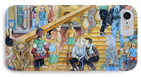 Mural Painting In Poitiers Phone Case by RicardMN Photography