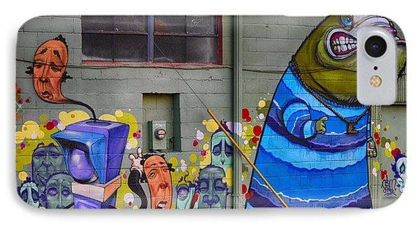 Mural - Wall Art Phone Case by Liane Wright