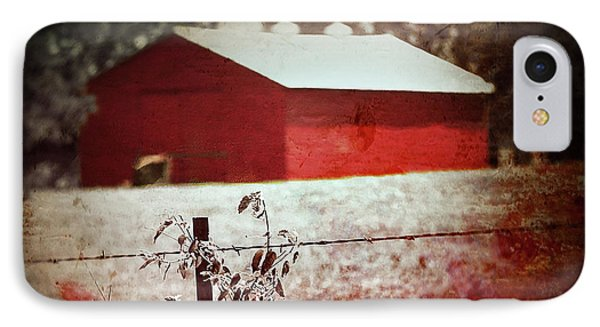 Murder In The Red Barn IPhone Case by Trish Mistric