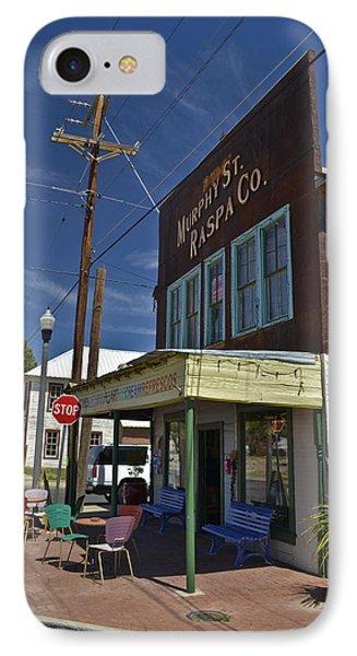 Murphy Street Raspa IPhone Case by Allen Sheffield