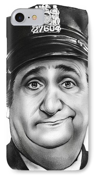 Murray The Cop IPhone Case by Greg Joens