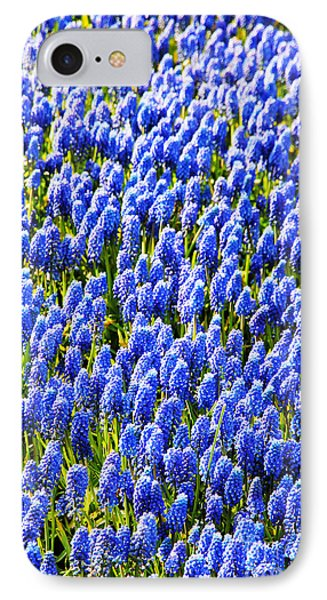 Muscari Early Magic Phone Case by Jasna Buncic