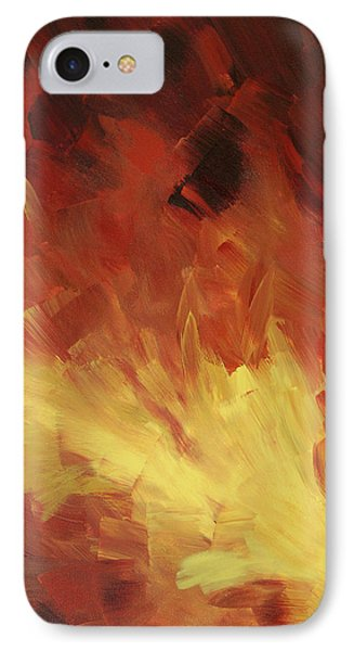 Muse In The Fire 2 Phone Case by Sharon Cummings
