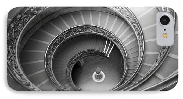 Musei Vaticani Stairs IPhone Case by Nathan Rupert
