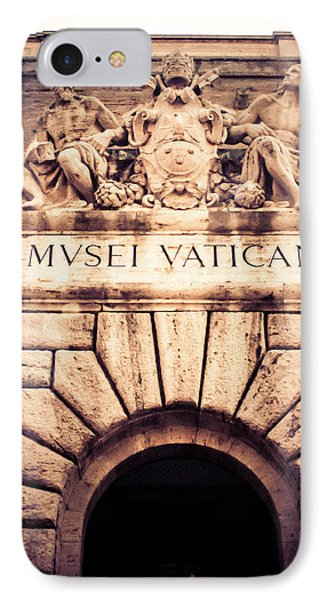 IPhone Case featuring the photograph Musei Vaticani Uscita by Rob Tullis