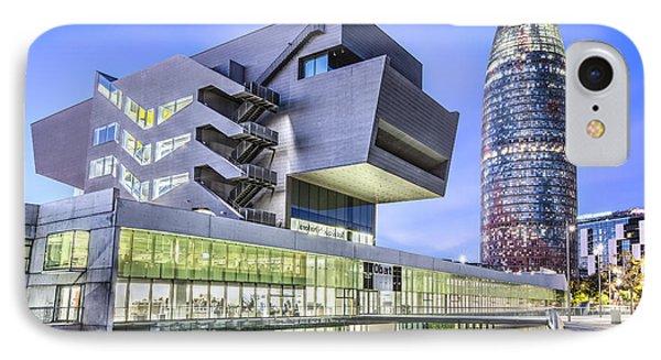 Museu Del Disseny In Barcelona Catalonia IPhone 7 Case